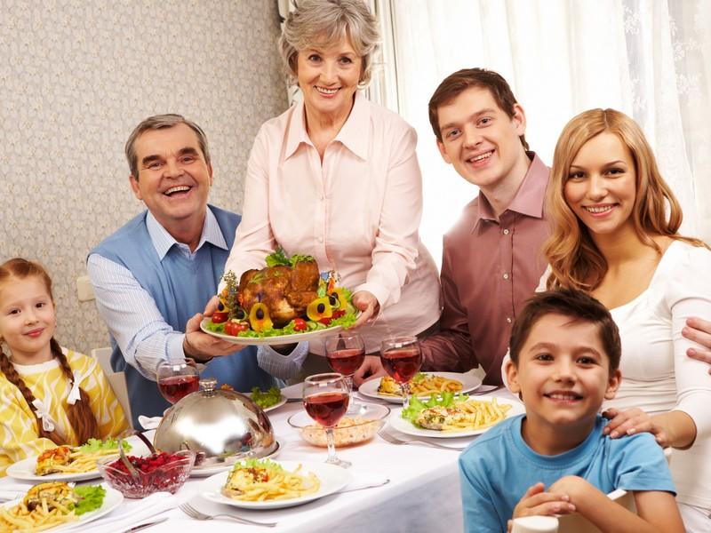 Семейная трапеза